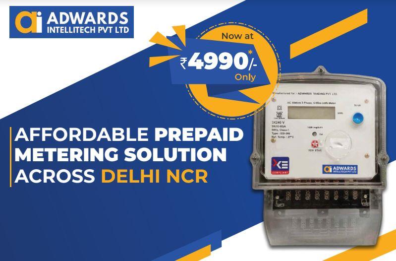 Online prepaid meters